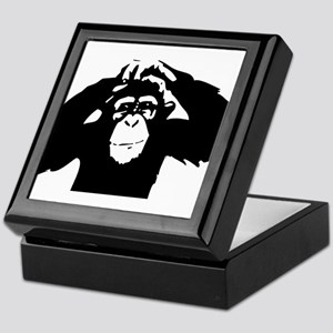 Chimpanzee Icon Keepsake Box