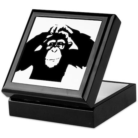 Chimpanzee Icon Keepsake Box