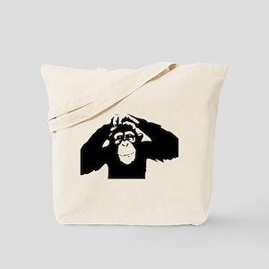 Chimpanzee Icon Tote Bag