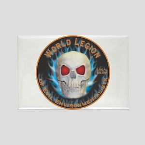 Legion of Evil Environmentalists Rectangle Magnet