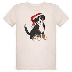 Santa Entlebucher Mountain Dog T-Shirt