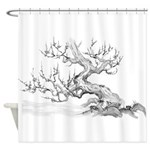Japanese plum Shower Curtain