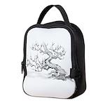 Japanese plum Neoprene Lunch Bag