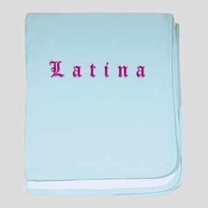 LATINA baby blanket