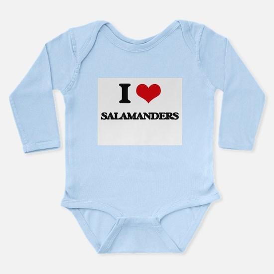 I love Salamanders Body Suit
