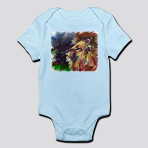 lion with white background Body Suit