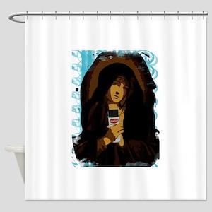 Virgin Mary Shower Curtain