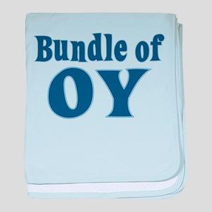Bundle of Oy baby blanket