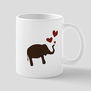 Valentine Elephant Mugs