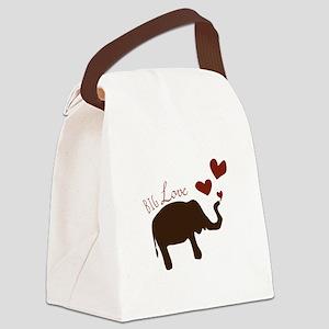 Big Love Canvas Lunch Bag