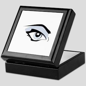 Womans Eye Keepsake Box