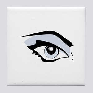 Womans Eye Tile Coaster