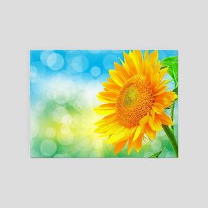 Sunflower Power 5'x7'Area Rug