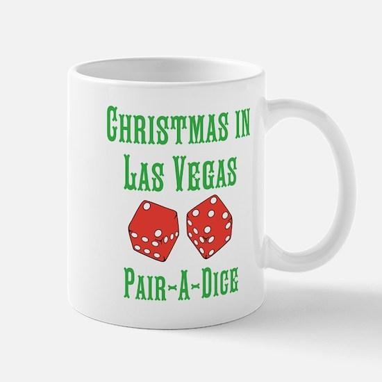 Las Vegas Christmas Pair-A-Dice Mugs