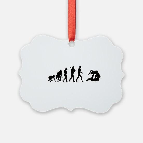 Evolution of Judo Picture Ornament