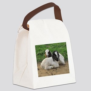 Kid goats Canvas Lunch Bag