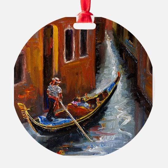 Gondola Ride at Venice Ornament
