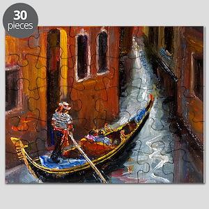 Gondola Ride at Venice Puzzle