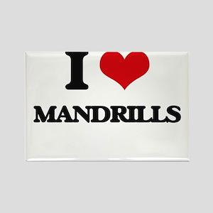 I love Mandrills Magnets