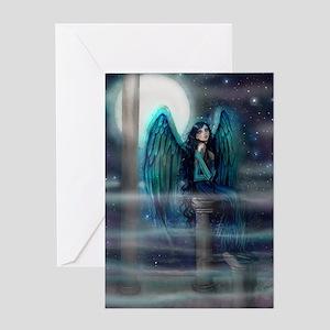 Spirit Guide Angel Art Greeting Cards