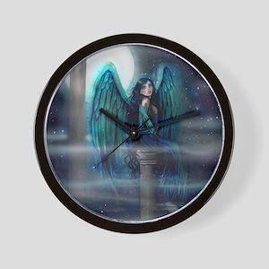 Spirit Guide Angel Art Wall Clock