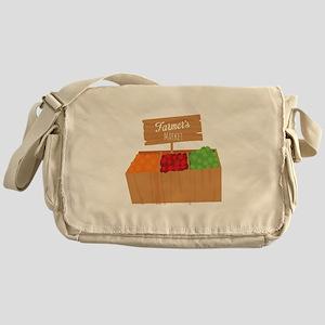 Farmers Market Messenger Bag