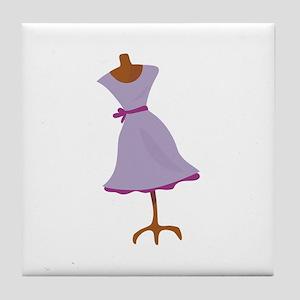 Dress Manequin Tile Coaster