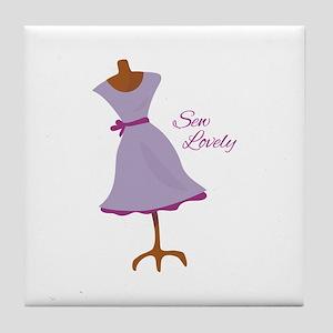 Sew Lovely Tile Coaster