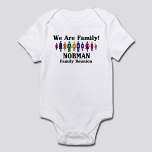 NORMAN reunion (we are family Infant Bodysuit