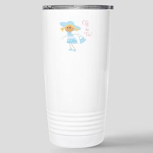 Off To Tea Travel Mug