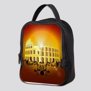The Colosseum Neoprene Lunch Bag