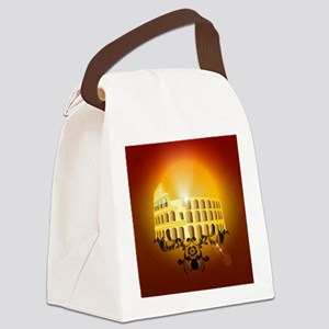 The Colosseum Canvas Lunch Bag
