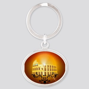 The Colosseum Keychains