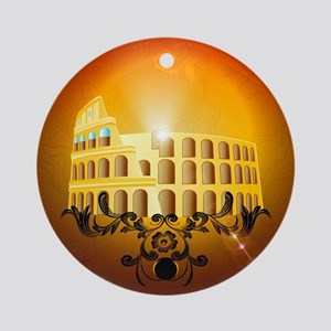 The Colosseum Ornament (Round)