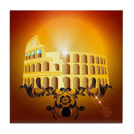 The Colosseum Tile Coaster