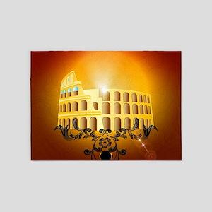 The Colosseum 5'x7'Area Rug