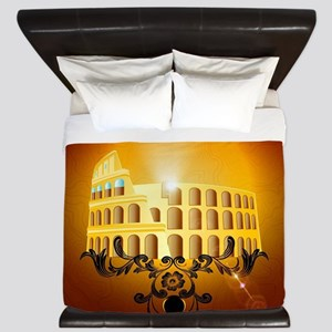 The Colosseum King Duvet