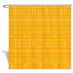 African Tribal Pattern Shower Curtain