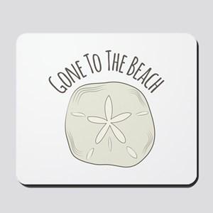 Gone To Beach Mousepad