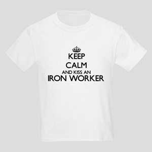 Keep calm and kiss an Iron Worker T-Shirt