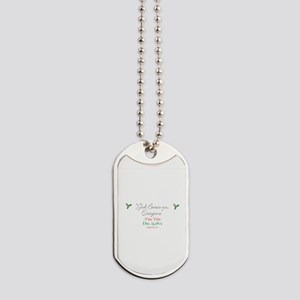 God Bwess us Everyone from Tiny Tim Dog Tags