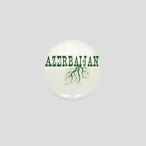 Azerbaijan Roots Mini Button