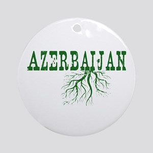 Azerbaijan Roots Ornament (Round)