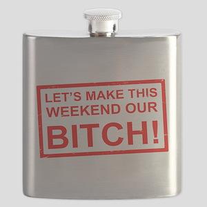 AM PIE WEEKEND BITCH Flask