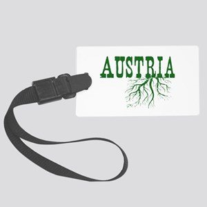 Austria Roots Large Luggage Tag