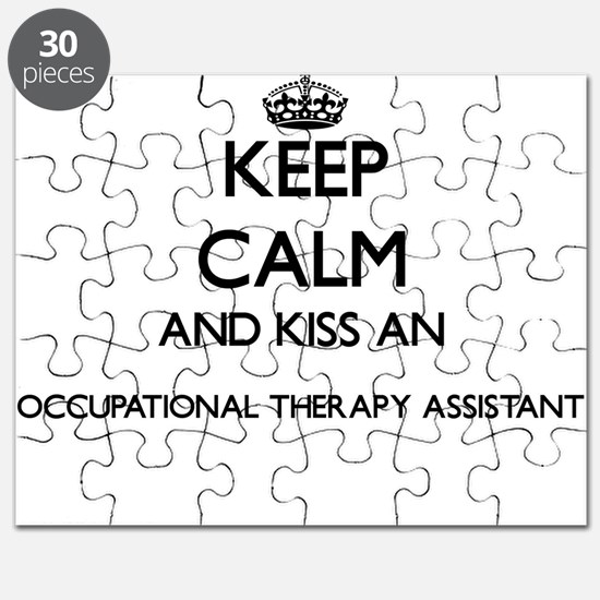 Keep calm and kiss an Occupational Therapy Puzzle