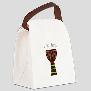 I Got Rhythm Canvas Lunch Bag