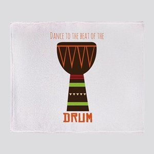Dance To The Beat Throw Blanket