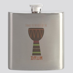 Dance To The Beat Flask