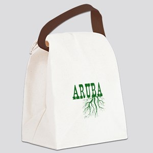Aruba Roots Canvas Lunch Bag